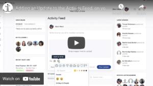 Adding an Activity Update